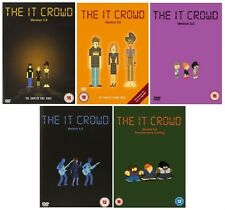 THE IT CROWD Complete Series 1-5 DVD Season 1 2 3 4 5 UK Release New Sealed R2