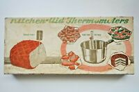 Vintage Chaney Kitchen Aid Thermometer (s), in Original box, Original Directions
