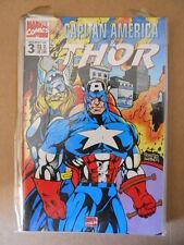 CAPITAN AMERICA & THOR n°3 1995 Marvel Italia  [G696]