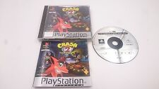 CRASH BANDICOOT 2 CORTEX STRIKES BACK PLATINUM PLAYSTATION 1 PS1 PSX PAL