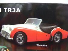 1/18 Kyosho Triumph tr3a blanc/rouge cabriolet