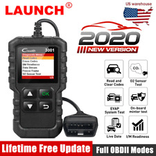 LAUNCH OBD2 Scanner Auto Code Reader Car Engine Check Fault Code Diagnostic Tool
