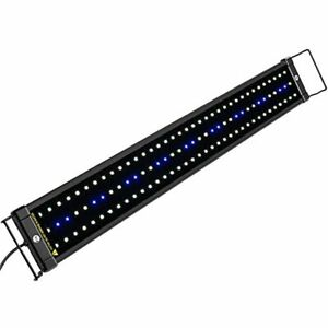 ClassicLED Aquarium Light, Fish Tank With Extendable Brackets, White And Blue 30