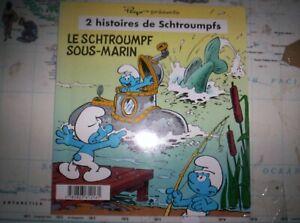 smurfs Peyo booklet comic Smurf and submarine SJ1303