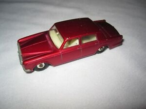 Lesney Matchbox Series No. 24 Rolls Royce Silver Shadow