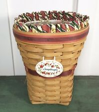 "1998 Longaberger May Series ""Snapdragon"" Combo Basket"