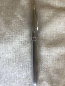 Parker Sonnet Limited Edition Chrome Fountain Pen $300