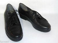 chaussures MEPHISTO cuir noir semelle Air-Jet taille 39 EUR 6 US 8.5