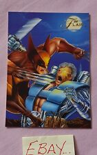 94 Flair Cable vs Wolverine 74 X-Men Marvel Trading Card HS
