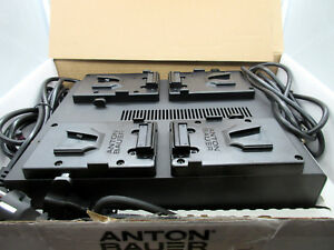 Anton Bauer LP4 Quad V-Mount Battery Charger # 8475-0128