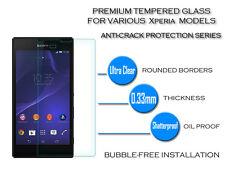 100% Véritable verre trempé Film Protecteur d'écran Pro Pour Sony Xperia Z4 Mini