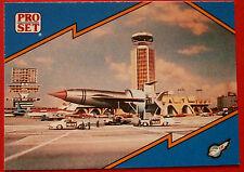 Thunderbirds PRO SET - Card #010, Thunderbird 1 - Pro Set Inc 1992