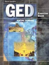 GED Exercise Books: Student Workbook Social Studies by STECK-VAUGHN