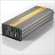 BRAND NEW DURAFIED 2000/4000W POWER INVERTER 12V DC TO 115/120V AC!