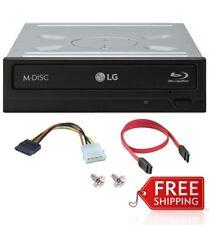 LG 16X Internal Blu Ray/DVD/CD 3D BDXL Burner Writer Copier Rewriter Drive MDisc