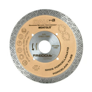 Montolit CGX DNA 115mm Diamond Blade CGX115 Cutting Wheel Porcelain