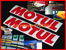 "2x 8.5"" 21.6cm MOTUL Decal Sticker yamaha suzuki subaru isuzu motorcycle moto gp"