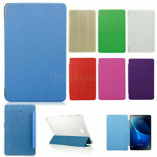 "Tri-Folding Leather Cover Case For Samsung Galaxy Tab A/E Tab S/S2 8"" 9.7"" 10.1"""