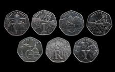 More details for isle of man 50p ve day victory 7 coin set choose your coin fifty pence - circ
