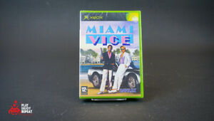 Miami Vice Original Xbox 2004 NEW AND SEALED FAST AND FREE UK POSTAGE