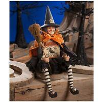 Bethany Lowe Old Witch Box Body Retro Vntg Style Halloween Figurine Doll Decor
