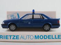 "Rietze 50340 Audi V8 (1988-1994) ""THW / OV Ingolstadt"" in blau 1:87/H0 NEU/OVP"