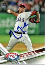 Keone Kela Texas Rangers 2017 Topps Signed Card
