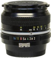Nikon 50mm f2 Pre-A.I lens