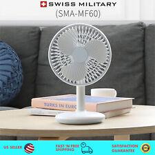 Portable HandHeld Desktop Cooling Fan USB Rechargeable 4,000mAh Battery