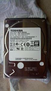 """Toshiba MQ01ABB200 hard disk 2TB sata 2,5"""" interno esterno notebook, perfetto"""