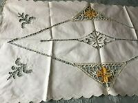 Beautiful Vintage Table Runner