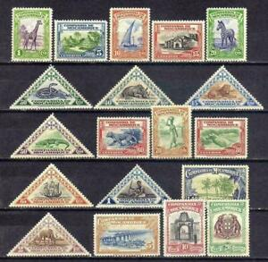 Mozambique Cia sc#175-193 (1937) Local Subjects full set OG MNH**