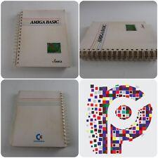 Amiga BASIC Microsoft Libro Manual básico para la amiga