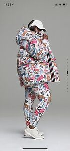 Adidas X Ivy Park Icy Park Ski Tag Puffer Coat Unisex XL 2 In 1 All Gender