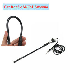 1x 16'' Adjustable Rotatable Angle Car Roof Radio AM/FM Amplified Antenna Aerial