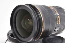 NIKON AF-S NIKKOR ED 24-70mm f/2.8 G  with / case cap [Exc+++] Camera lens