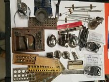 Watch makers Tools staking tools, vices, 8mm crown chucks and more