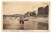 cabourg  la plage et les villas