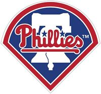 "Philadelphia Phillies MLB ColorLogo Vinyl Decal Sticker - You Pick Size 2""-28"""