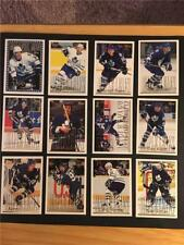 1995/96 Topps Toronto Maple Leafs Team Set 12 Cards