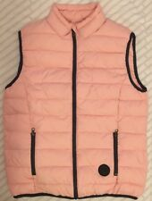 Lotto Womens Puffer Vest Pink Sz L Designed In Italy