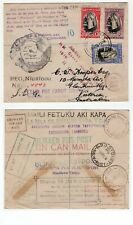 Tonga TIN CAN MAIL cover 1940