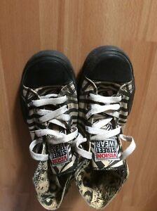 VISION STREET WEAR '80s Skateboard Shoes Hi Tops 6 UK / 7 USA