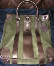 $1295 Polo Ralph Lauren Tote Leather Italy Hand or Shoulder Messenger Bag New