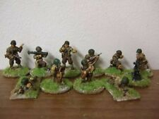 Lancer IFA05 20mm Diecast WWII US Platoon Command Section Stationary