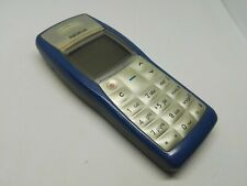 NOKIA 1100 RH-18 BLUE RETRO MOBILE PHONE WORKING UNLOCKED MADE IN FINLAND