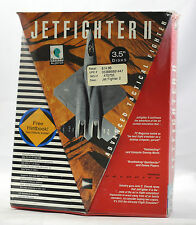 "Big Box PC Sealed - Velocity Jetfighter II 2 MS-DOS 3.5"" ULTRA RARE EPIC 1990"