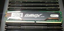 CRUCIAL BALLISTIX SPORT 2GB Desktop Ram PC2-6400 DDR2 BG112HD.F8 TESTED