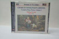 Griffes Complete Piano Works Vol 2 Classical Music CD American Classics