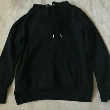 Ladies size 12 black pocket string hoodie jumper primark casual
